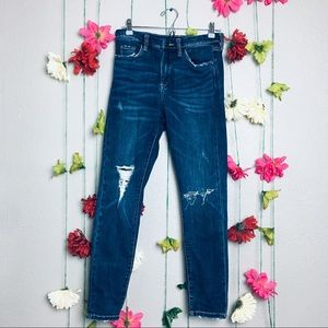 Blank NYC Distressed Skinny Jeans size 30.